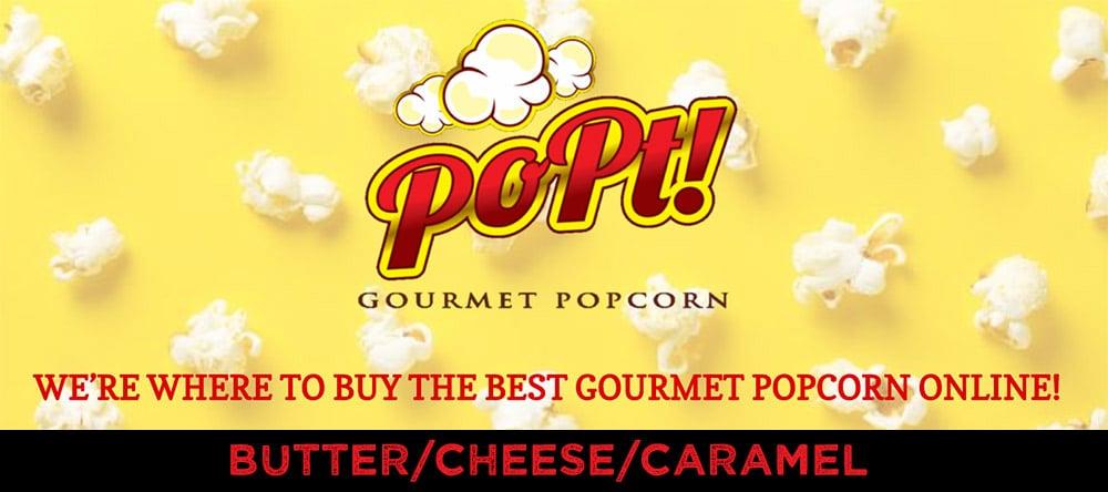Popt Gourmet Popcorn - 1